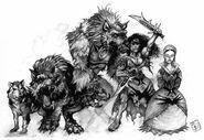 Werewolf Dark Ages 1