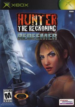Hunter The Reckoning - Redeemer cover xbox usa