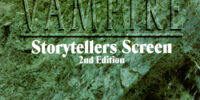 Vampire Storytellers Screen Second Edition