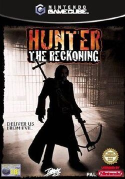 Hunter The Reckoning - videogame cover gc eur