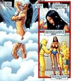 Wonder Woman showers