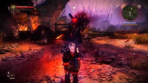 The Witcher 2 Assassins of Kings - Geralt Vs. Vandergrift (Draug) HD