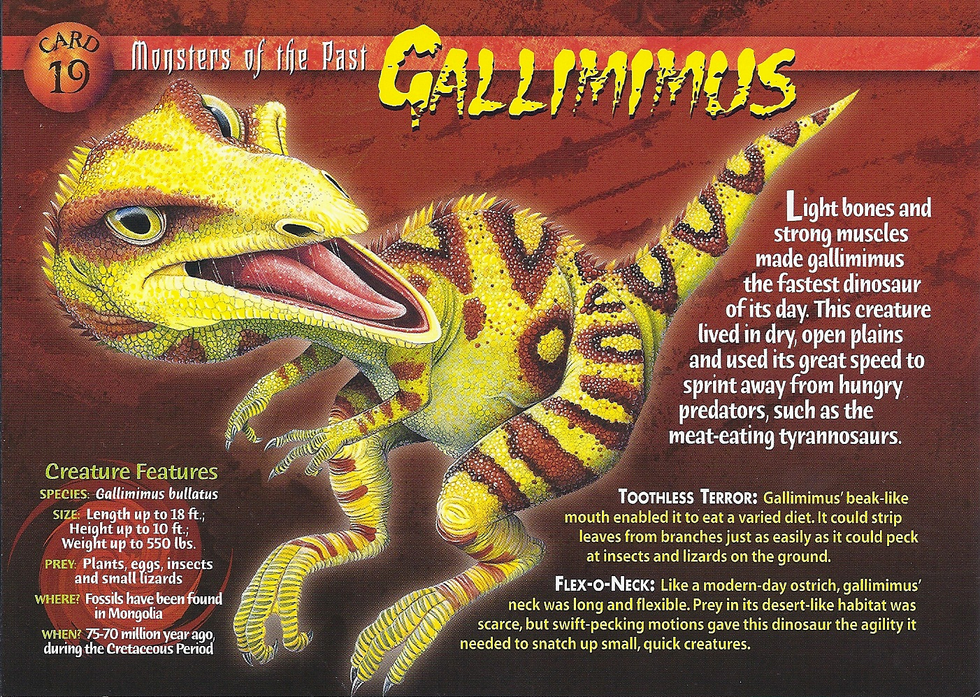 Gallimimus | Wierd N'wild Creatures Wiki | FANDOM powered ... Red Wasps