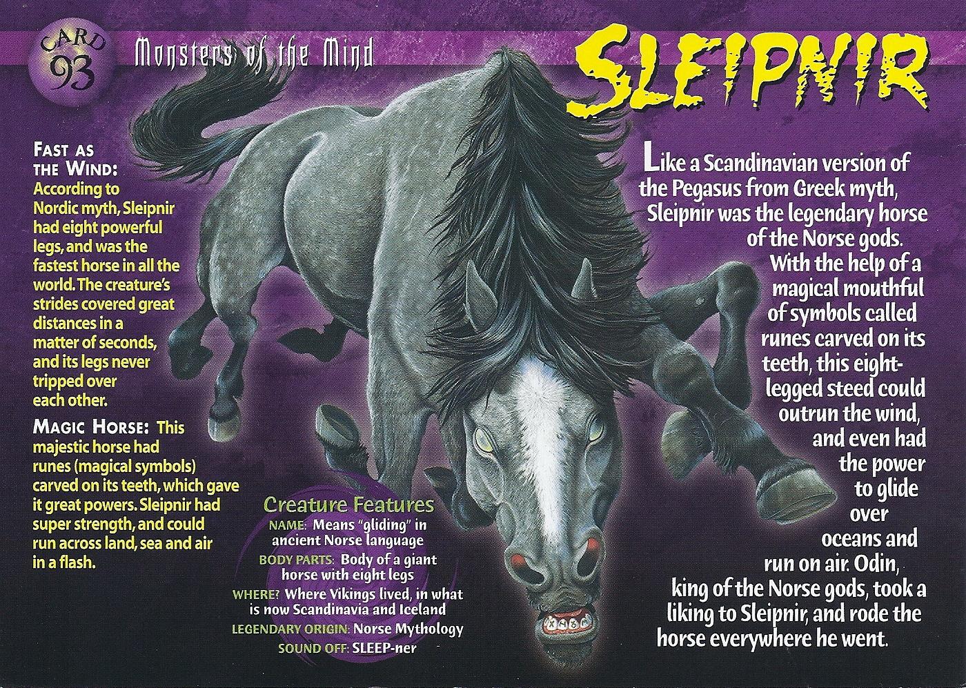 sleipnir wierd n u0027wild creatures wiki fandom powered by wikia