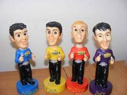 The Wiggles bobble head toys