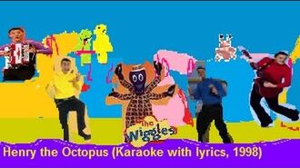 The Wiggles - Henry the Octopus (Karaoke with lyrics, 1998)