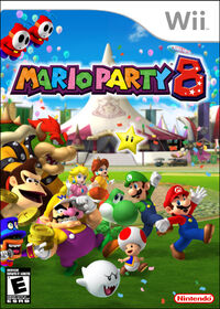 Mario Party 8 boxart