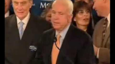 John McCain Thanks George Allen