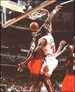 Jordan dunks on mutombo