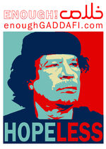 Gaddafi Hopeless
