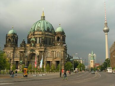 Berlin-cathedral-and