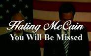 HatingMcCainYouWillBeMissed