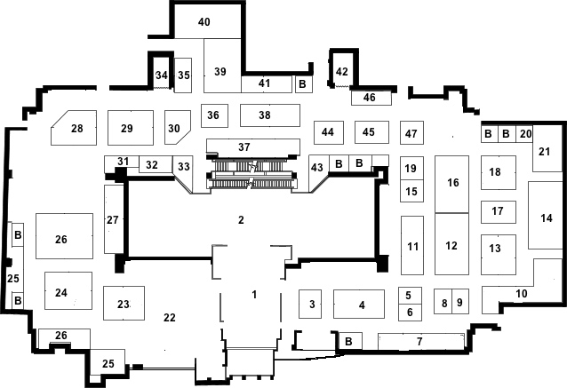 City Hall Floorplan