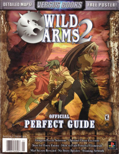 Wild Arms 2 Official Perfect Guide | Wild Arms Wiki | FANDOM powered by Wikia