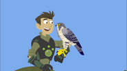 Chris and Falcon