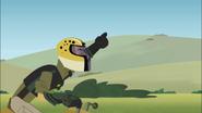Chris Riding Cheetah Racer