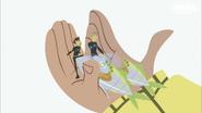 Kratt bros in Aviva's Hands