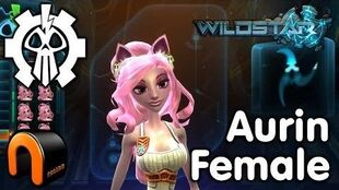 WildStar - Exile - Aurin Female, Character Creation