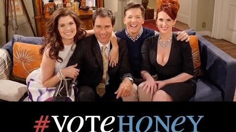 """***OMG!*** NEW """"Will & Grace"""" scene about 2016 Election"""