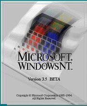 Windows nt 3 5 beta-14330
