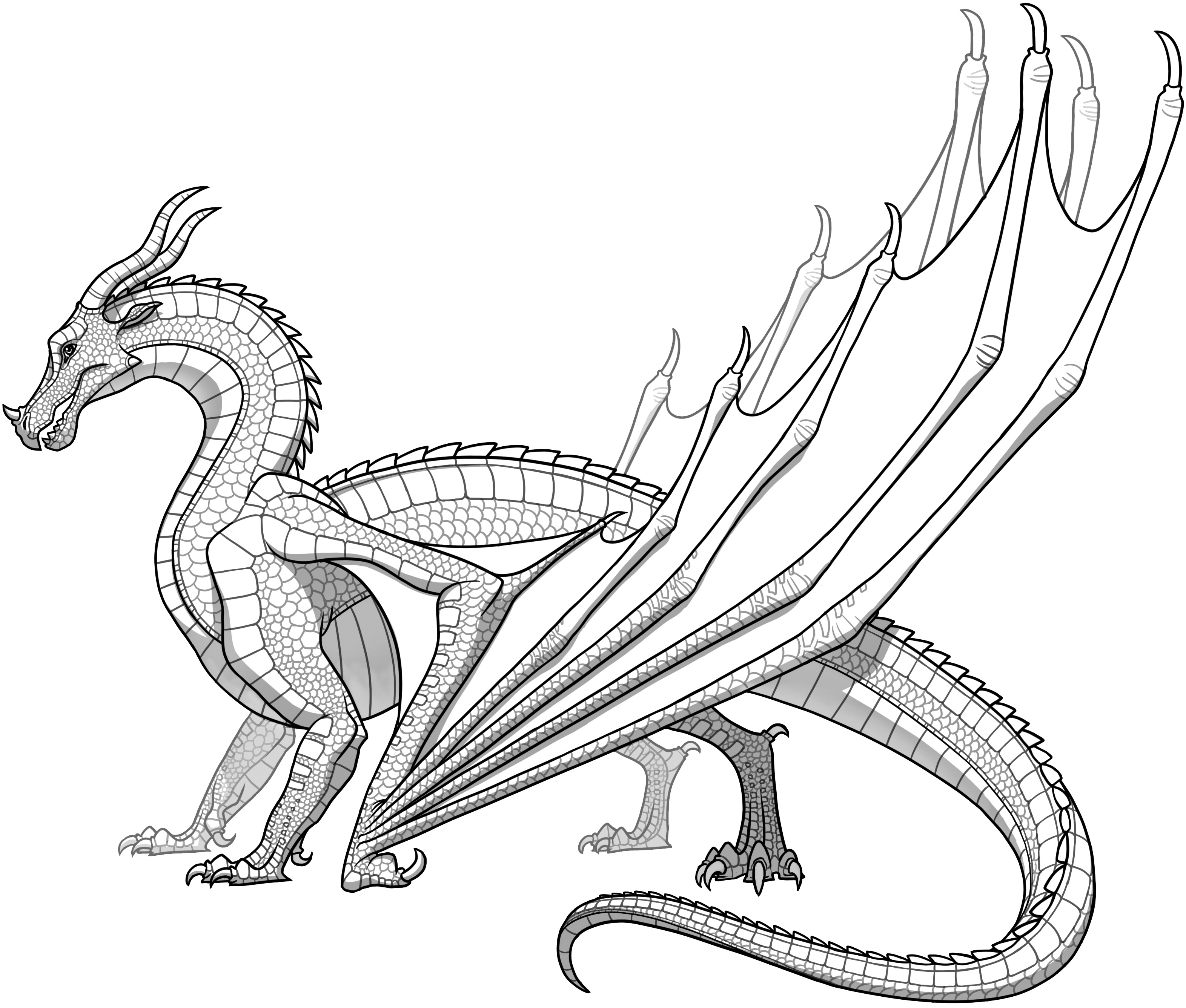 Skywings Are One Of The Seven Dragon Tribes Of Pyrrhia, Characterized By  Their Scales Whiche In Many Varying Shades Of Red, Gold Or Orange And  Their