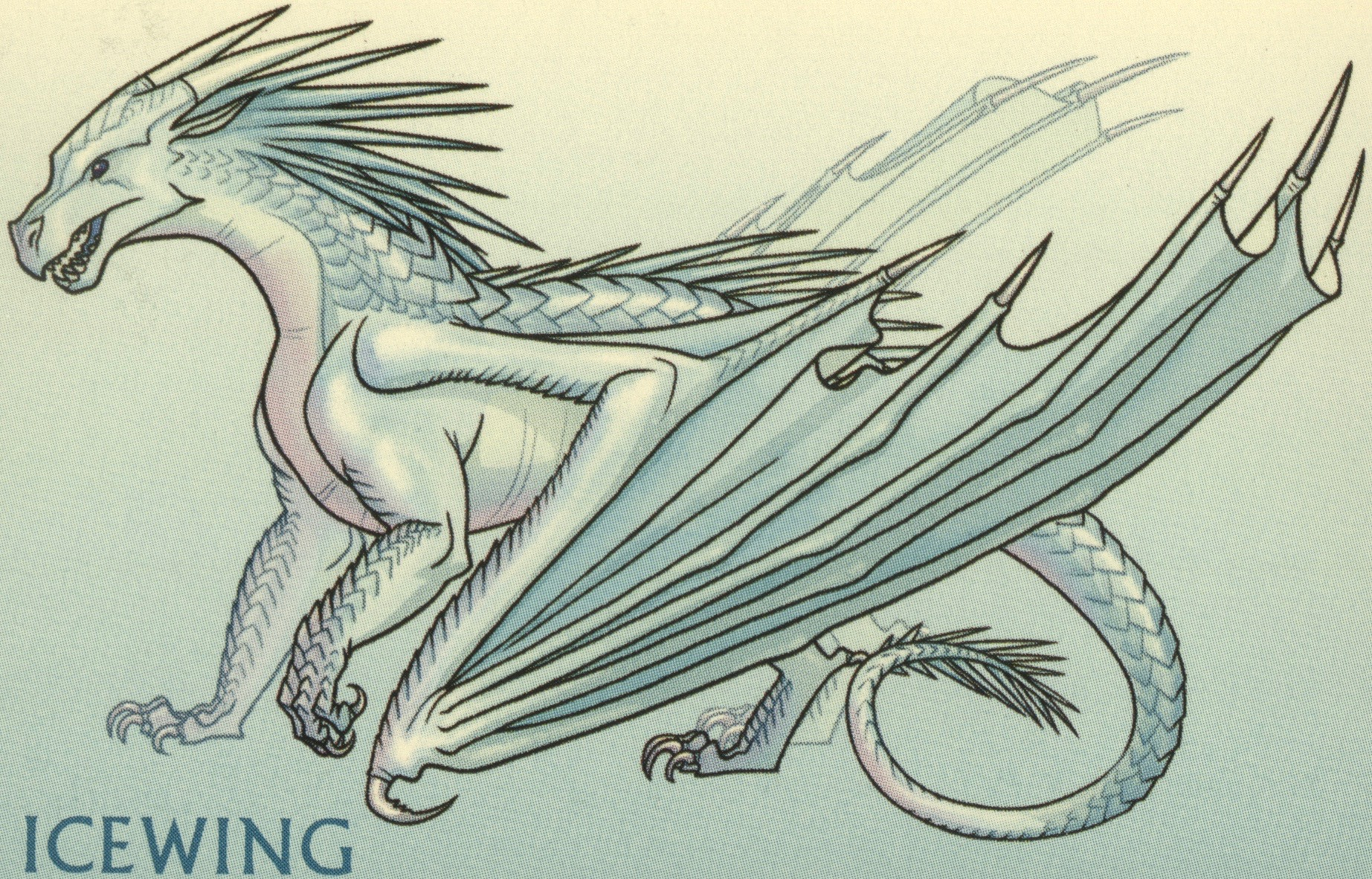 images colored icewing - photo #11