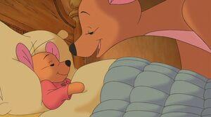 Pooh's Heffalump Movie - Kanga Tucks Roo into Bed