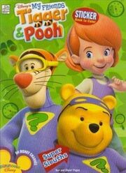 Winnie the Pooh - Super Sleuths Sticker Book to Color
