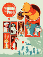 Winnie the Pooh 2011 art poster