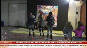 GRANDE SUCCESSO PER IL MUSICAL PER I 10 ANNI DELLE WINX CLUB