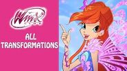 Winx Club All Transformations Title Card