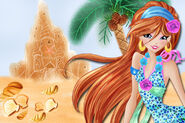 Goodbye school... hurray for magical summer and free time! (Bloom)