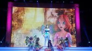 Winx Club Christmas Tour - Bloom and Winx behind the scene from 2nd Winx movie