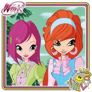 Winx Club - Tecna & Bloom S7E2 (Instagram)