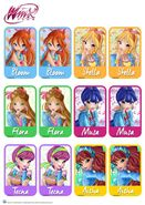 Winx Club- Memory Card Game - Etno Chic