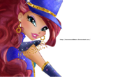 Winx club aisha layla gothic fairy couture by ineswinxeditions-d8igxlv
