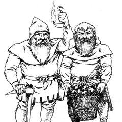 Dwarves in <a href=