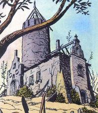 Old manor house comics