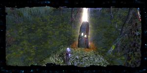 L'obelisco Chocc'mah, con dentro il sephirah