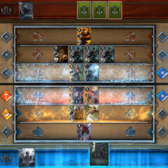 The aim of the game is simple: GWENT® is all about accumulating more points than your opponent.