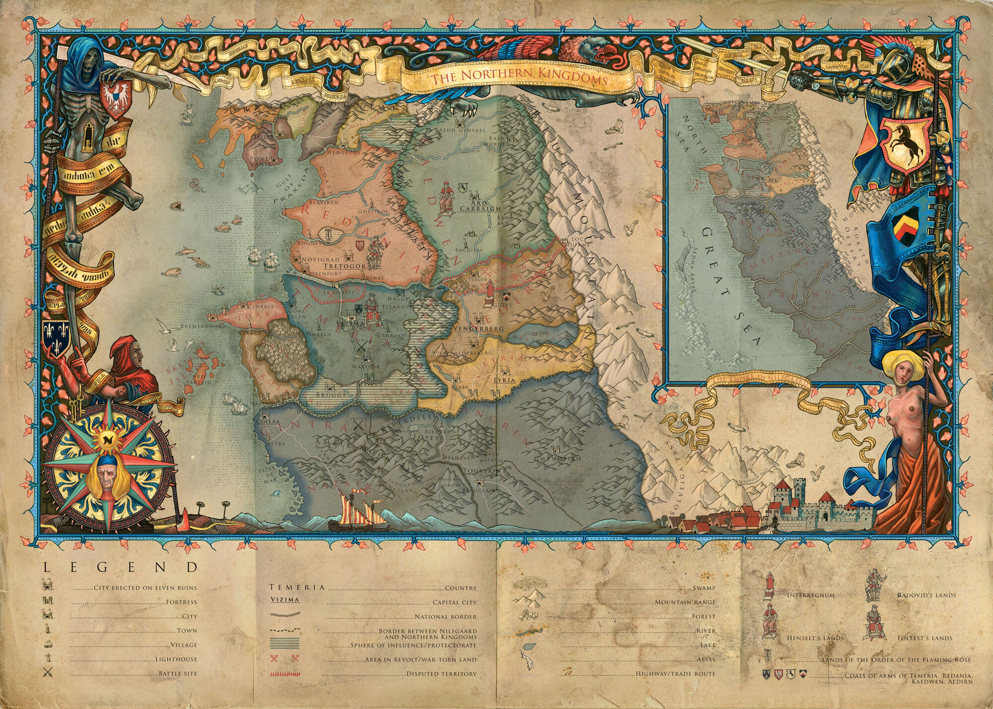 Continent Witcher Wiki FANDOM powered by Wikia