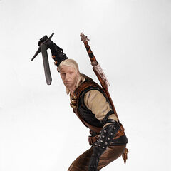 Geralt action figure