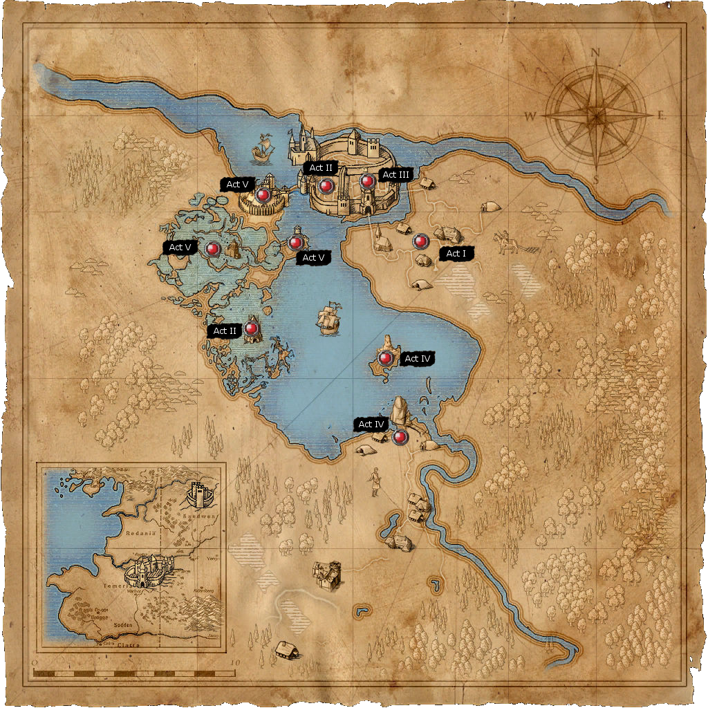 I converted the map pdf from the gog extras for witcher 3 so it can this map gumiabroncs Image collections