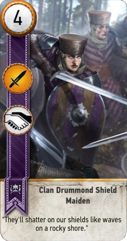 File:Tw3 gwent card face Clan Drummond Shield Maiden 1.png