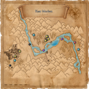 Map Kaer Morhen valley