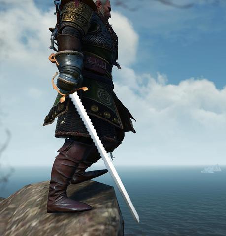 File:Tw3 Gwestog wielding Geralt.png