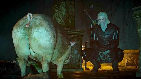 Piggy's Magic- Geralt and Fools' Gold DLC Quest (Witcher 3 - Lurch - Velen)