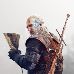 Render of Geralt