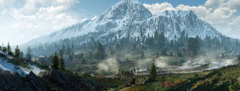 Skellige mountains