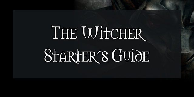 File:The Witcher Starter Guide Header.png
